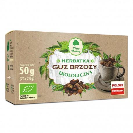 Herbatka Guz Brzozy eko 25x2g Dary Natury