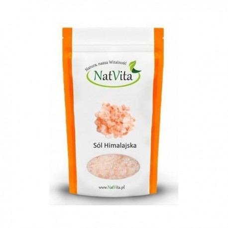 Natvita Sól Himalajska Miałka 1kg