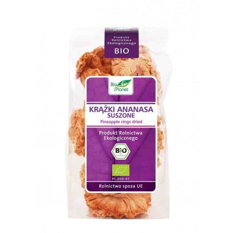 Ananas Suszony Krążki  BIO 100g Bio Planet