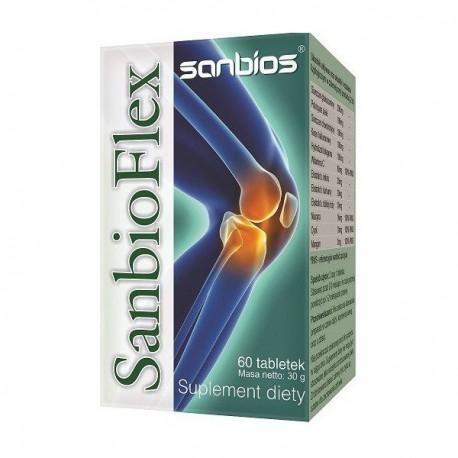 Sanbios Sanbioflex 60tabl. Wzmacnia Stawy I Kości