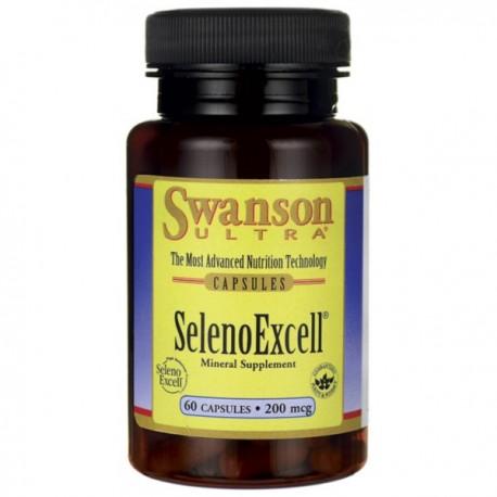 Swanson Selenoexcell Naturalny Selen 200Mcg 60kaps.