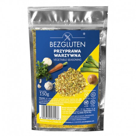 Przyprawa warzywna bezglutenowa 150 g Bezgluten