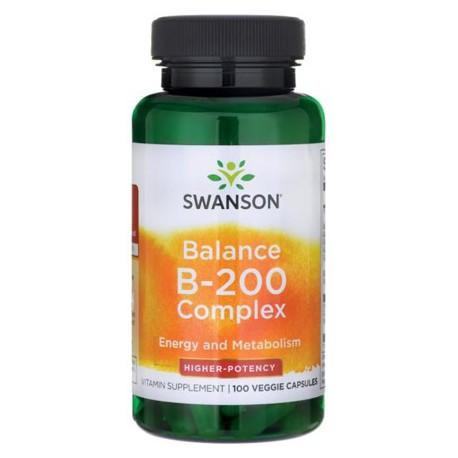 Swanson Balance B-200 (b-complex) 100kaps.