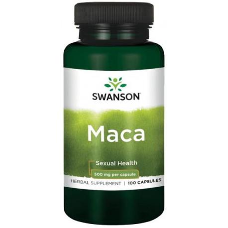 Swanson Maca 500Mg 100kaps.