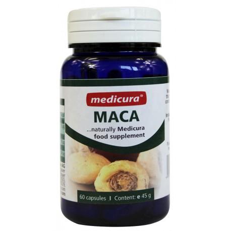 MACA (KORZEŃ) W KAPSUŁKACH 45 g (60 szt.) - MEDICURA