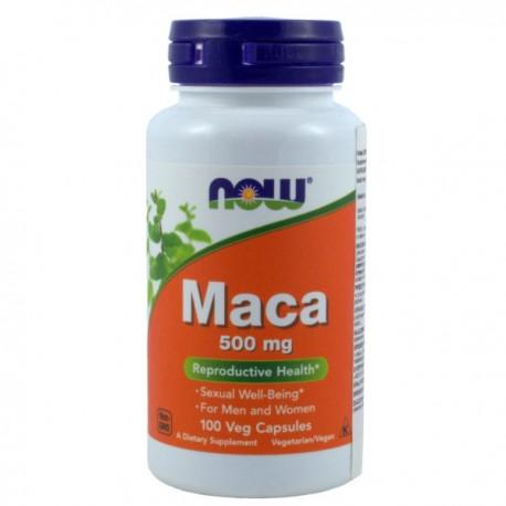 Now Foods Maca 500Mg 100kaps.