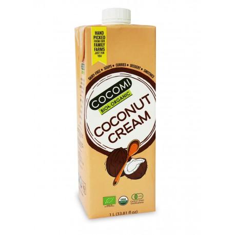 ZAGĘSZCZONY PRODUKT KOKOSOWY (krem kokosowy- gęsta śmietanka) BIO 1 L - COCOMI