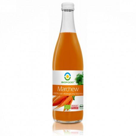 Ekologiczny sok z marchwi kiszonej 0,5 l BIO FOOD