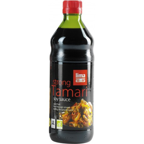 SOS SOJOWY TAMARI MOCNY BEZGLUTENOWY BIO 500 ml - LIMA