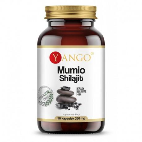 Mumio - 40% kwasów fulwowych - 90 kapsułek YANGO