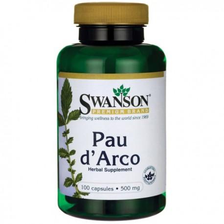 Swanson Pau D'Arco 500Mg 100kaps.