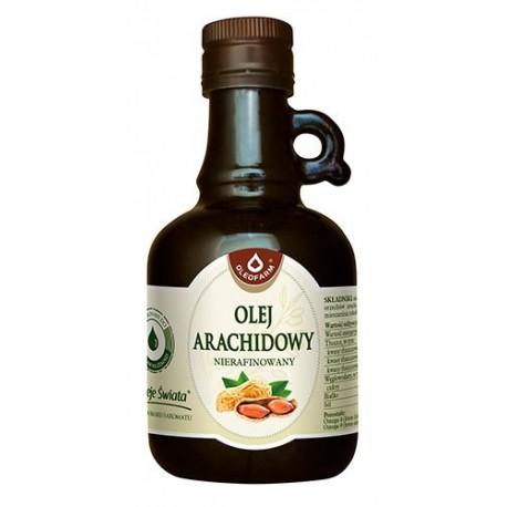 Olej arachidowy nierafinowany 250ml Oleofarm