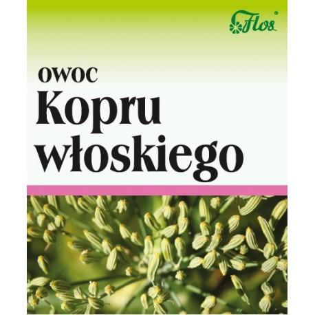 Flos Koper Włoski Owoc 50g