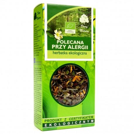 Herbatka Ekologiczna Polecana przy Alergii 50g Dary Natury