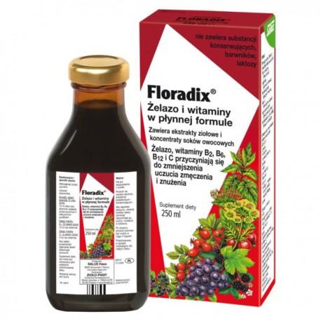 Zioło-Piast Floradix Żelazo I Witaminy 250ml Płyn