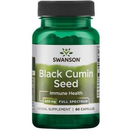Swanson Fs Black Cumin Seed 400mg 60kaps.