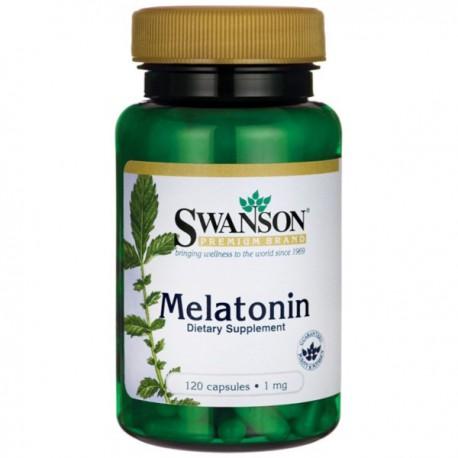 Swanson Melatonina 1Mg 120kaps.
