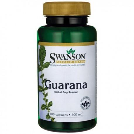 Swanson Guarana 500mg 100kaps.