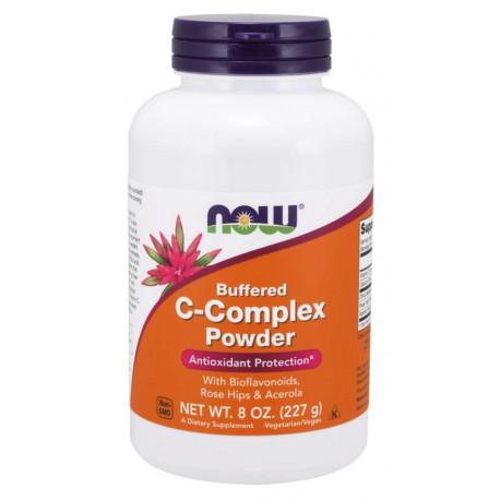Witamina C Buforowana- Vitamin C-Complex Buffered Powder 227g NOW