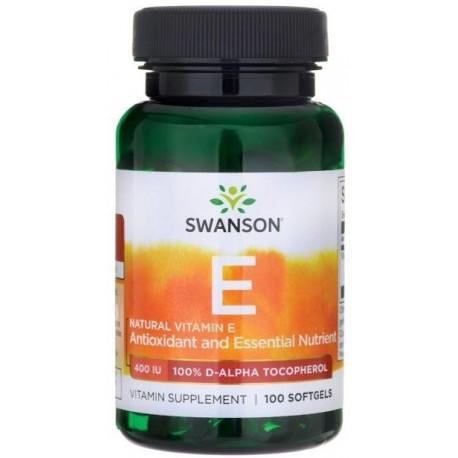 Swanson Witamina E Naturalna (mixed tocotrienols) 400Iu 100kaps.