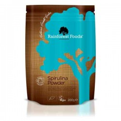Spirulina Proszek 200g EKO Rainforest Foods