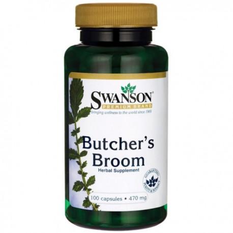 Swanson Butcher's Broom (ruszczyk kolczasty) 470Mg/100kaps.