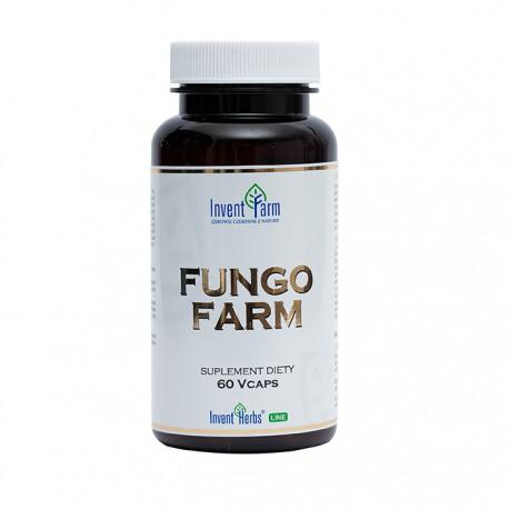 Invent Farm Fungo Farm 60kaps. Oczyszcza Organizm