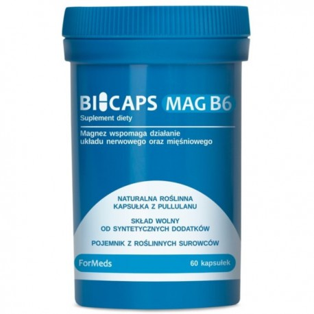 Formeds Bicaps Mag B6 60kaps.