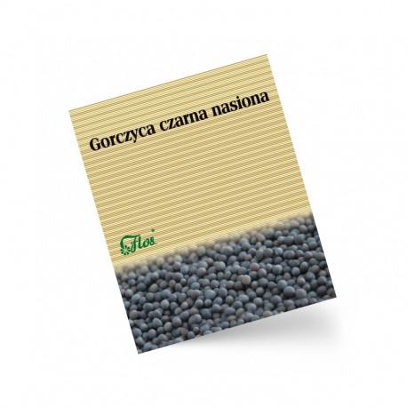 Gorczyca czarna nasiona 50 g Flos