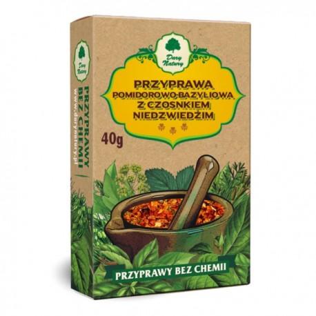 Dary Natury Przyprawa Pomidorowo Bazyliowa z Czosnkiem N. 40G