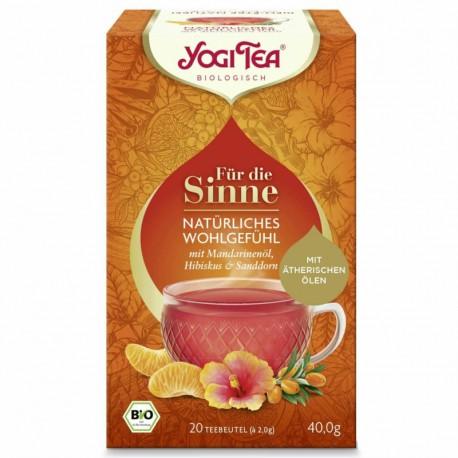Yogi Tea Herbata Senses Bio 17X2,1g dla zmysłów