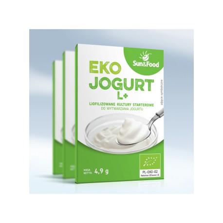 Żywe Kultury Jogurt L + Leczenie Żywieniem (Sun & Food)