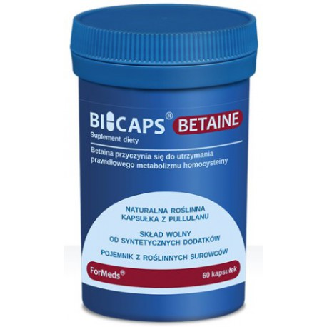 Formeds Bicaps Betaine 60kaps. betaina