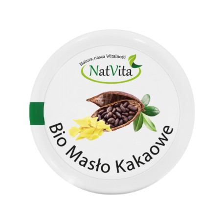 Masło Kakaowe BIO 100g NatVita
