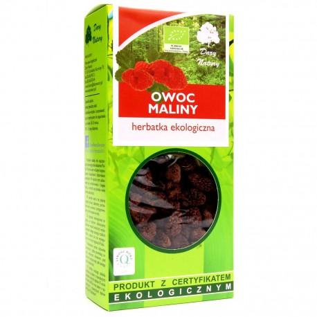 HERBATKA OWOC MALINY BIO 50 g - DARY NATURY