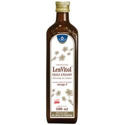 LENVITOL® OlejLniany 500ml Oleofarm