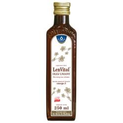 LENVITOL® Olej Lniany 250ml Oleofarm