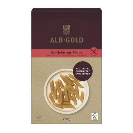 Makaron Penne 100% Brązowy Ryż 250g Alb Gold
