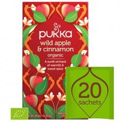 Pukka Wild Apple & Cinnamon BIO 20 saszetek