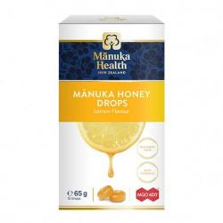 Cukierki z Miodem Manuka MGO™ 400+ i witaminą C Smak Cytrynowy 15szt.