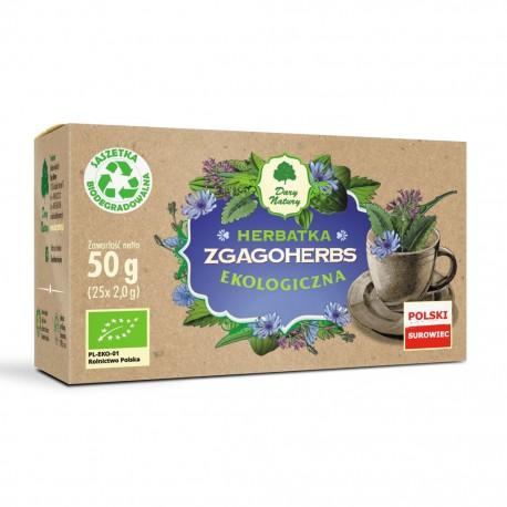 Dary Natury Herbata polecana przy zgadze EKO 25x2g