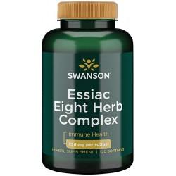 Essiac Eight Herb Complex- Mieszanka 8 Ziół ESSIAC- 356mg 120 miękkich żelowych