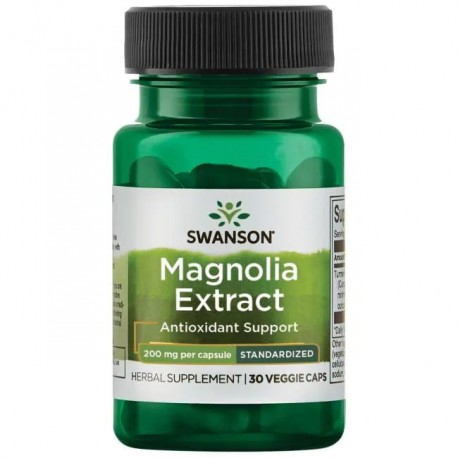 Swanson Magnolia Extract 200mg 30kaps.