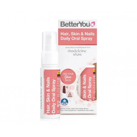 Skóra, Włosy i Paznokcie Witaminy w Sprayu 25ml- Hair Skin and Nails Oral Spray BETTERYOU