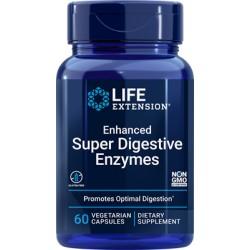 Enzymy Trawienne- Enhanced Super Digestive Enzymes 60kaps.  Life Extension