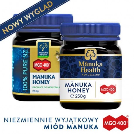 Miód Nektarowy Manuka MGO® 400+ 250g