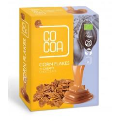 PŁATKI KUKURYDZIANE W CZEKOLADZIE CREAMY BIO (2 x 100 g) 200 g - COCOA