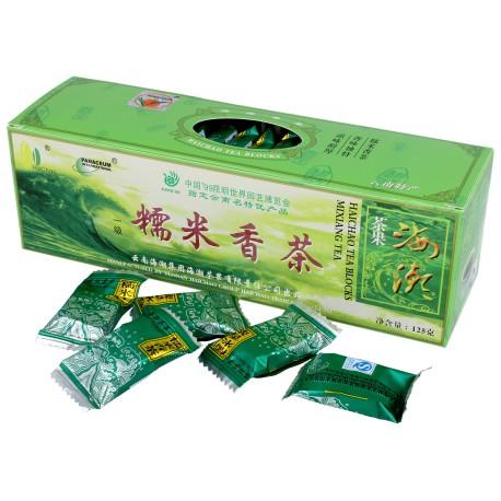 """Herbata Zielona """"Ryżowa"""" Prasowana Yunnan w Kostkach 125g"""