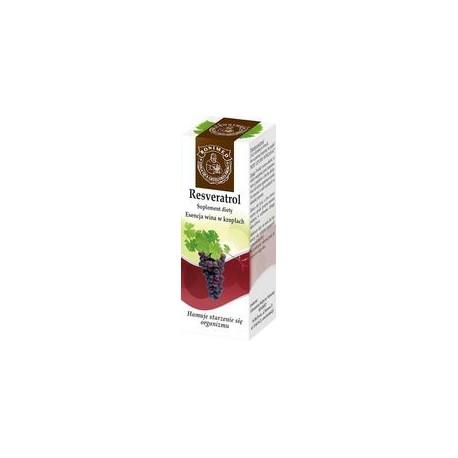 Resveratrol Esencja Wina w Kroplach 20ml Bonimed
