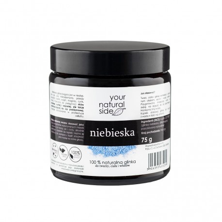 Glinka Niebieska 75g Your Natural Side